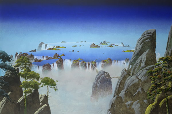 Close to the Edge - Roger Dean