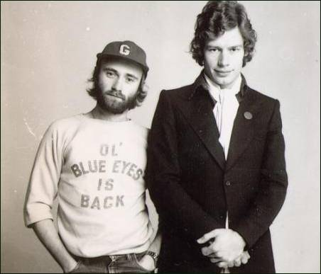 Bill Bruford, Phil Collins 1976