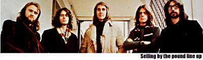 Genesis in the Selling England by the Pound Lineup 1973