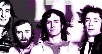Genesis 1977 lineup: (L-R) Rutherford, Collins, Banks, Hackett