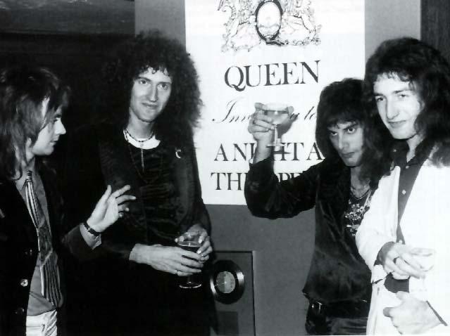 תוצאת תמונה עבור queen a night at the opera celebrations